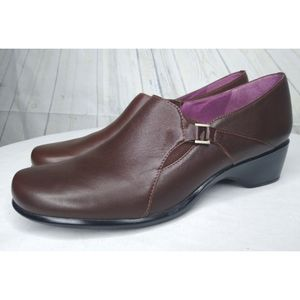 Clark's Artisan Brown Leather Shoes SZ 9 N